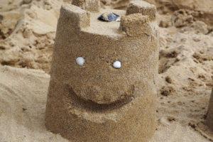 chateau de sable développement personnel merveilleusement imparfaite