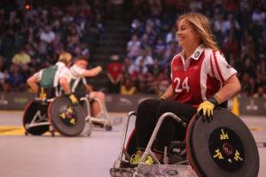 sportif handicapé merveilleusement imparfaite